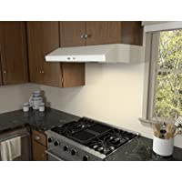 Zephyr AK6500B 600 CFM 30 Inch Wide Under Cabinet Range Hood from the Cyclone Se, White