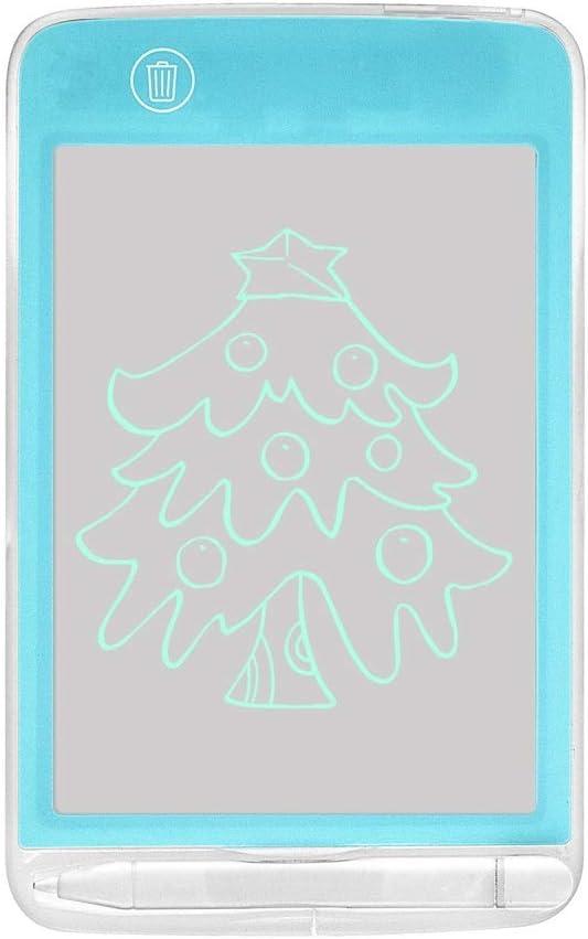LCDライティングタブレットデジタルeWriter電子グラフィックタブレット描画タブレット消去可能なポータブル落書きボード子供たちのおもちゃ誕生日ギフト学習ツール ペン&タッチ マンガ・イラスト制作用モデル (Color : Blue, Size : 6.5inch)