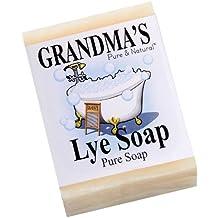 Grandmas Lye Soap by Miles Kimball, 6 oz Bar