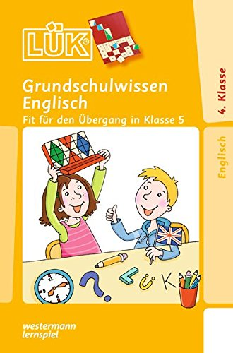 LÜK: Grundschulwissen Englisch (Cover Bild kann abweichen)