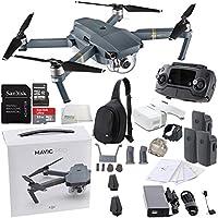 DJI Mavic Pro Collapsible Quadcopter Drone Virtual Reality VR FPV + DJI Sling Bag for Mavic Pro and Goggles POV Experience Ultimate Bundle