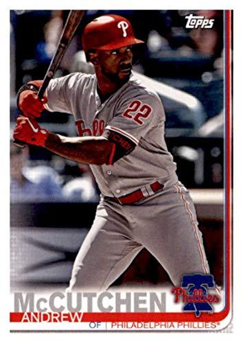 2019 Topps Team Edition Philadelphia Phillies #PP-17 Andrew McCutchen Philadelphia Phillies Baseball Card