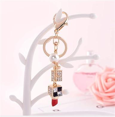 Amazon.com: IBESTARS - Llavero de moda, joyería de diamante ...