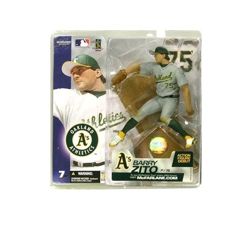 McFarlane Sportspicks: MLB Series 7 Barry Zito (Chase Variant) Action -