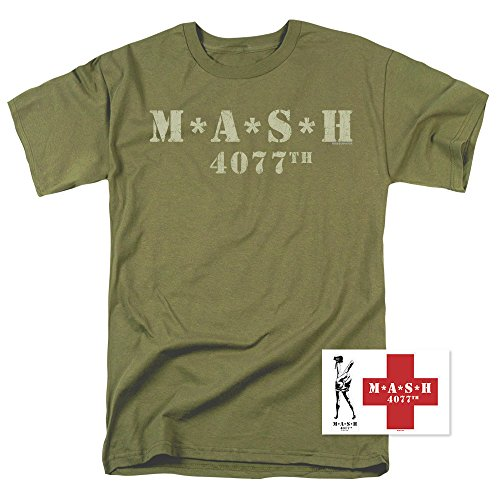 Distressed Logo Mens T-shirt - Popfunk Mash Distressed Logo T Shirt & Exclusive Stickers (X-Large)