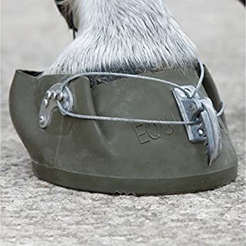 TEMPORARY SHOE BOOT HORSE REPLACEMENT PROTECTS FROG SOLE