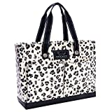 SCOUT Uptown Girl Medium Multi-Pocket Tote Bag, Water Resistant, Zips Closed, Press Paws