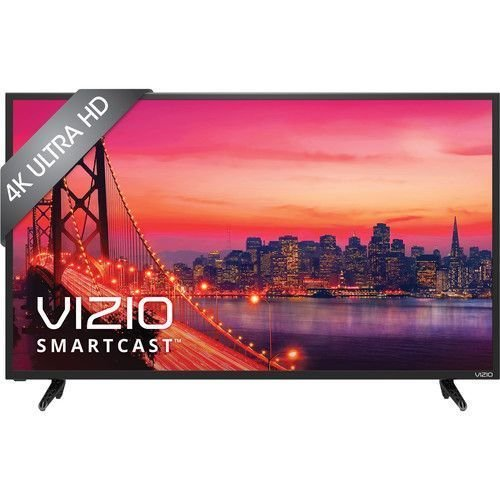 VIZIO SmartCast E-Series E55u-D2 55″ 4K Ultra HD 2160p 120Hz LED Smart Home Theater Display (4K x 2K), DTS Studio Sound, Built in WiFi