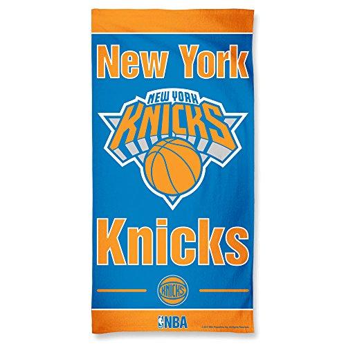 fan products of NBA New York Knicks Fiber Beach Towel, 9lb/30 x 60