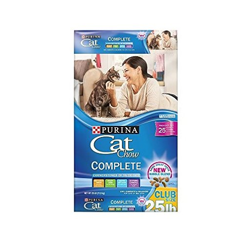 Purina Cat Chow Complete Dry Cat Food (22 lb. Bag - 4 Bags)