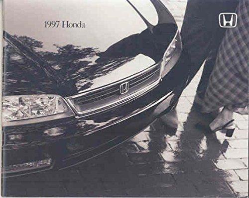 (1997 Honda Brochure Accord Civic Prelude Del Sol)