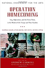 Operation Homecoming: Iraq, Afghanistan, and the Home Front, in the Words of U.S. Troops and Their Families Hardcover