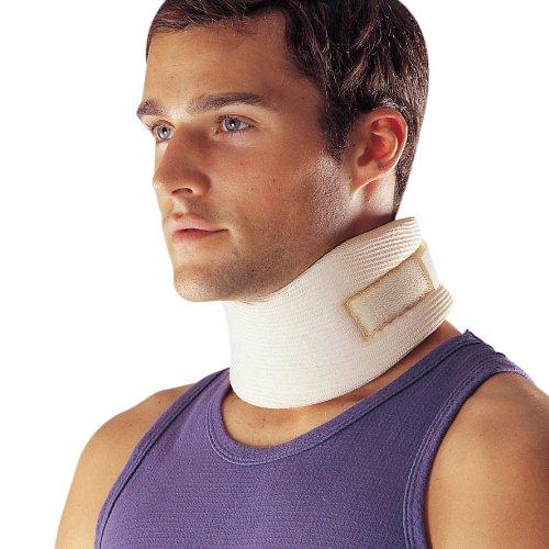 LP Support 906 Cervical Stütze - Nackenbandage mit weichem Schauminnenkern, M