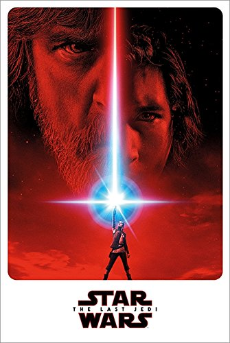 Star Wars: Episode VIII - The Last Jedi - Movie Poster / Print Teaser Style / Lightsabers By Stop Online