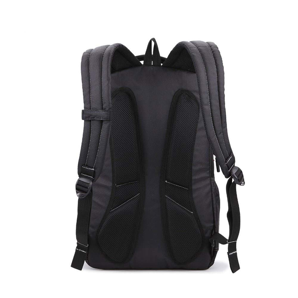 MYXMY Outdoor Sports and Leisure Bag Backpack Backpack Travel Female Computer Korean Version of The Shoulder Bag Trend Wild Men's Backpack by MYXMY (Image #6)