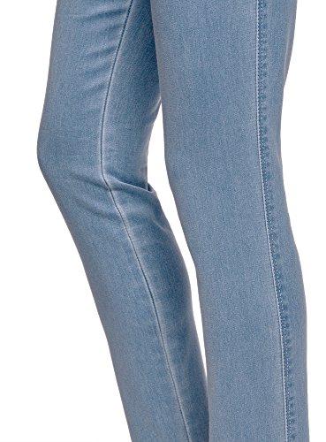 Mujer Vaqueros Mallas Azul oodji Ultra Cintura Elástica con 7000w 67O1Pqw