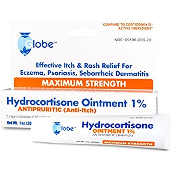 Hydrocortisone Maximum Strength Ointment 1%, USP 1 oz (Compare to Cortizone-10) (1 Tube)
