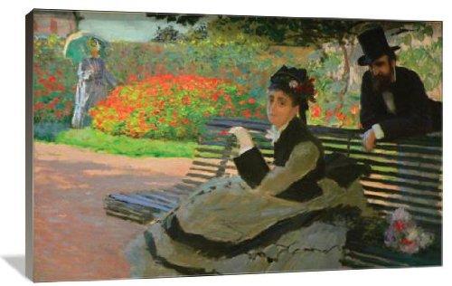 Camille Monet on a Garden Bench 48