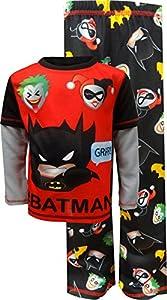 DC Comics Big Boys' Batman 2 Piece Jersey Sleep Set at Gotham City Store