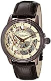 Stuhrling Original Men's 228.3365K77 Brumalia Mechanical Watch with Brown Leather Band