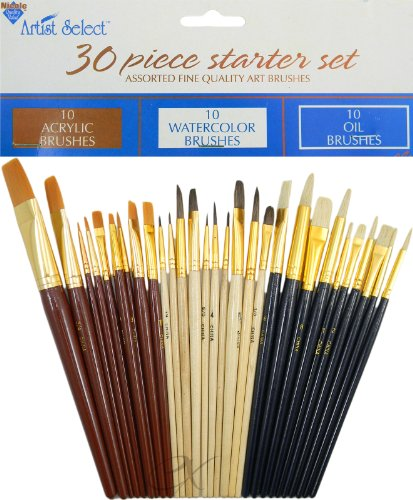 Fine Paint Brushes Acrylic Watercolors product image