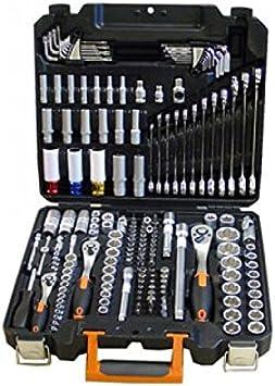 """Fesa - Maletin estuche de herramientas 176 Piezas : ½"""", 3/8"""", ¼"""": Amazon.es: Bricolaje y herramientas"""