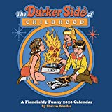 Books : The Darker Side of Childhood: A Fiendishly Funny 2020 Wall Calendar