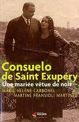 Consuelo Suncin Sandoval, Comtesse Antoine de Saint Exupéry : Une mariée vêtue de noir