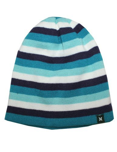 Hurley Unisex Reversible Double-Layer Ski & Skate Knit Winter Hat