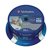 Verbatim BD-R Single Layer Datalife HTL 25GB [VB-43811]