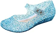 Kawai Peach Girls' Cute Sparkle Sandals Fancy Dress Up Jelly Party Dancing Cosplay S