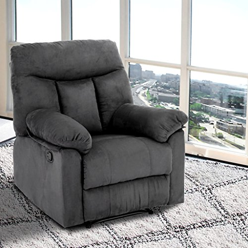 LANGRIA Living Padded Recliner Sofa Chair Contemporary fo...