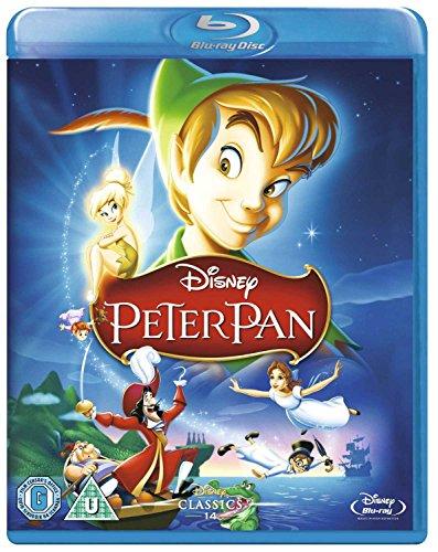 Disney Peter Pan  Region Free   Import   Blu Ray