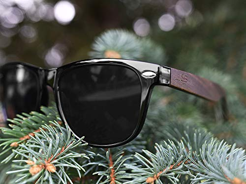 Polarized Bamboo Sunglasses - Eco-Friendly, Made For Men and Women, UV400 Protection, Light weight, free repair tool included - ShoppBoss by ShoppBoss (Image #6)