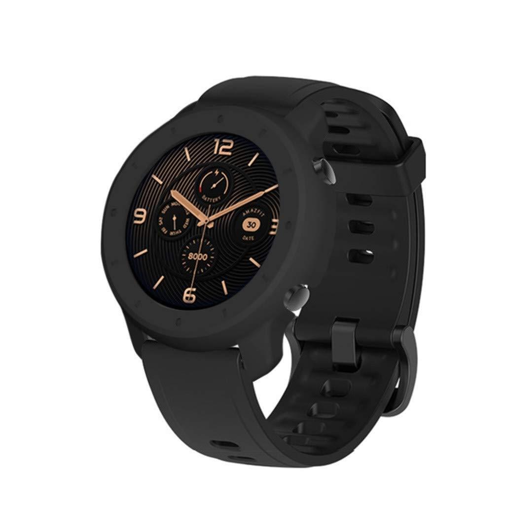 Amazon.com: Yukuai Smart Watch Screen Protector Case for ...