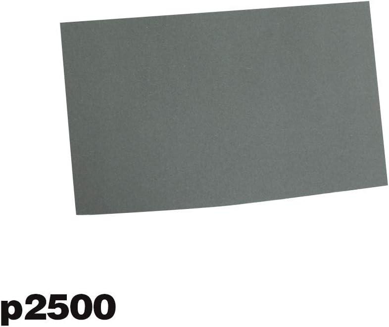 6pcs 6 Pi/èces//Set Papier Abrasif Imperm/éable Abrasif Papiers P600 //1000//1200//1500//2000//2500 pour Bois Meuble Vaugan Papier de Verre