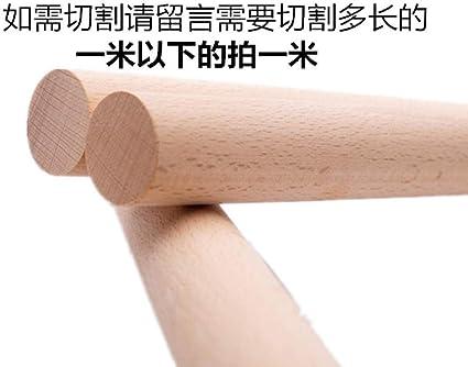 fuwz barre ronde en bois massif bois