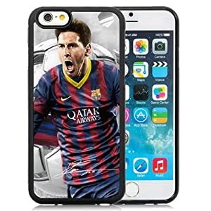 Unique DIY Designed Case For iPhone 6 4.7 Inch TPU With Soccer Player Lionel Messi 18 Cell Phone Case WANGJING JINDA