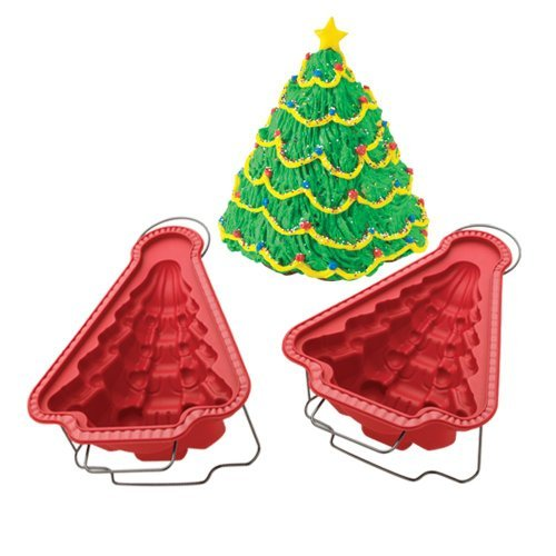 Hoffritz 3d Christmas Tree Mold 2pc Set