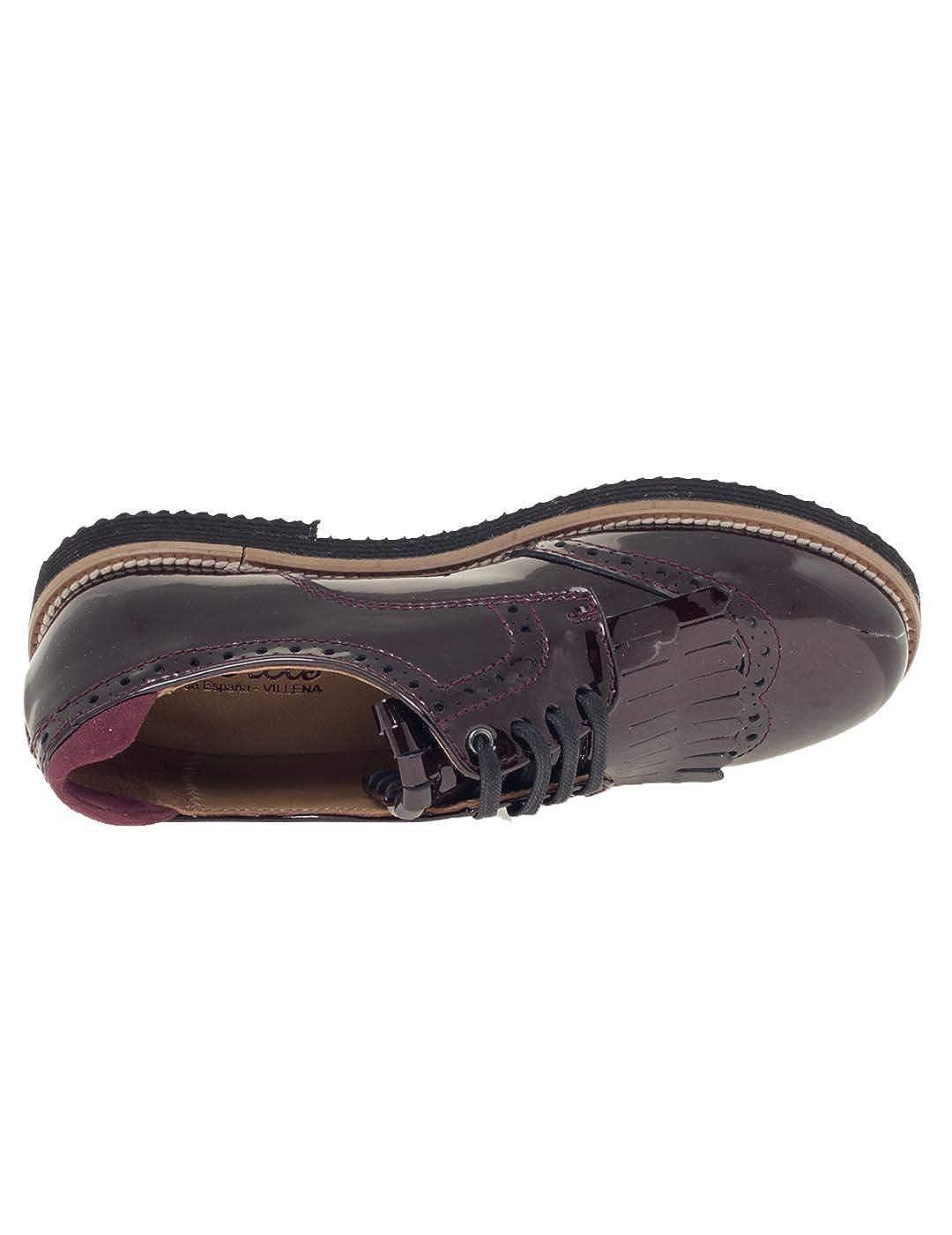 Blucher Niña Beberlis Charol Burdeos: Amazon.es: Zapatos y ...