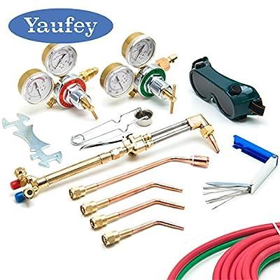 NEW VICTOR Type Gas Welding & Cutting Kit Oxygen Torch Acetylene Welder Tool Set