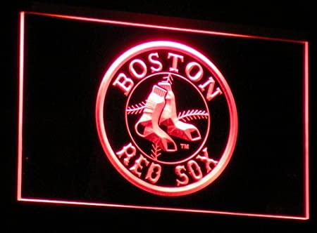 Boston Red Sox Logo Neon LED Caracteres Publicidad Neon ...
