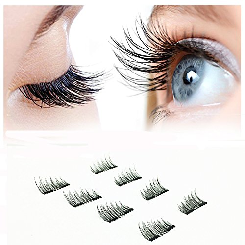 Magnetic Eyelashes (8 pieces) Premium Quality False Eyelashes Set