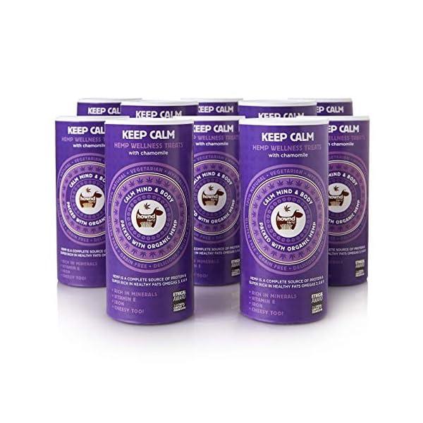 hownd Keep Calm Hemp Wellness Treats, 200 g