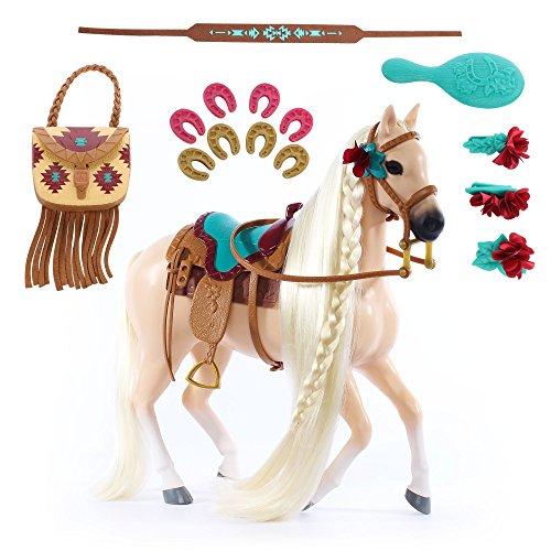 Horseshoe Saddle - Saddle Stars Horse Skye a Free Spirited Palomino
