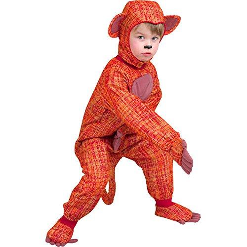 Sock Monkey Costumes 2t (Sock Monkey Costume Toddler Size: 2-4T)