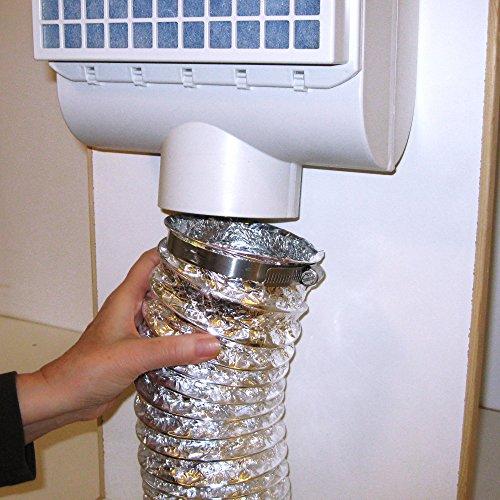 Clothes Dryer Lint ~ Bettervent indoor dryer vent bnc