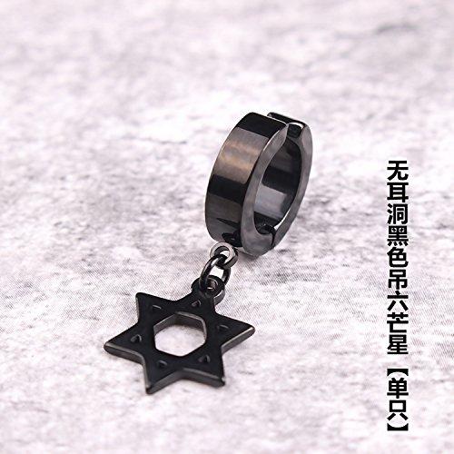 Black Hanging Hexagram