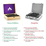 Essential-Oil-Wooden-Box-Storage-Case-Holds-68-Bottles-Roller-Bottles-Customizable-Large-Organizer-Provides-Best-Protection-Great-For-Travel-Includes-Removable-Padding-And-EO-Labels