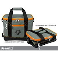 GigaTent Orange Insulated Collapsible Cooler - Soft Lunch...